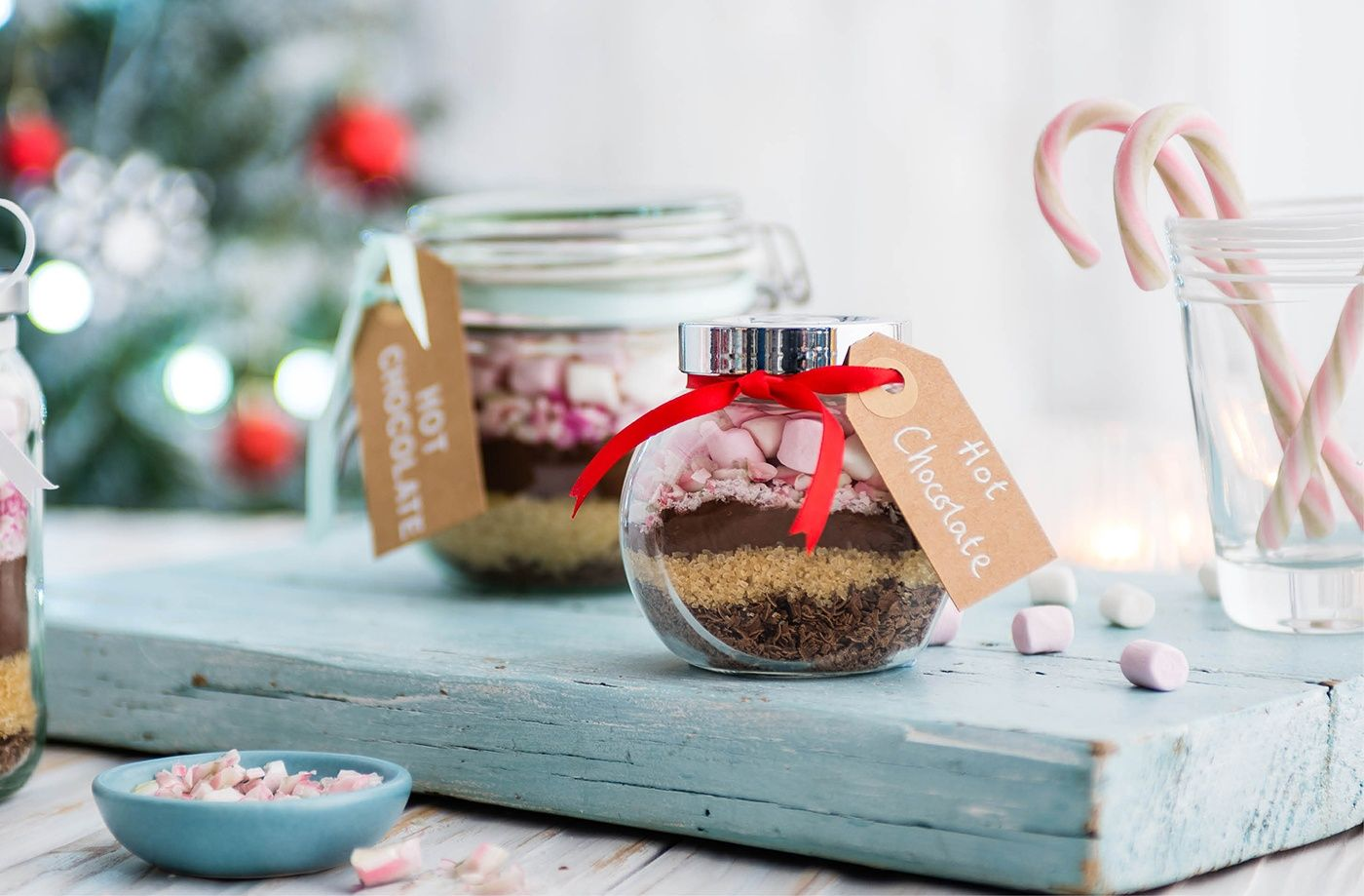 How To Make Hot Chocolate Gift Jars Hot Chocolate Gifts