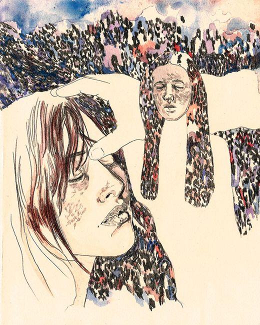 Rajneeshpuram Oregon Illustration Visual Influence Illustration