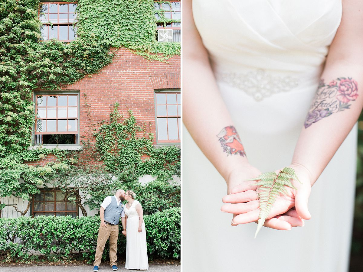 Edgefield bridal session rosencrown photography