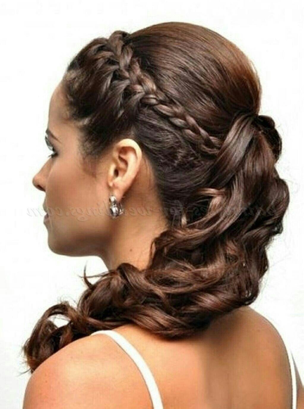 Pin De Monserrath Vega En Wedding Hair Make Up Nails Peinado Semirecogido Con Trenzas Peinados Peinados Poco Cabello