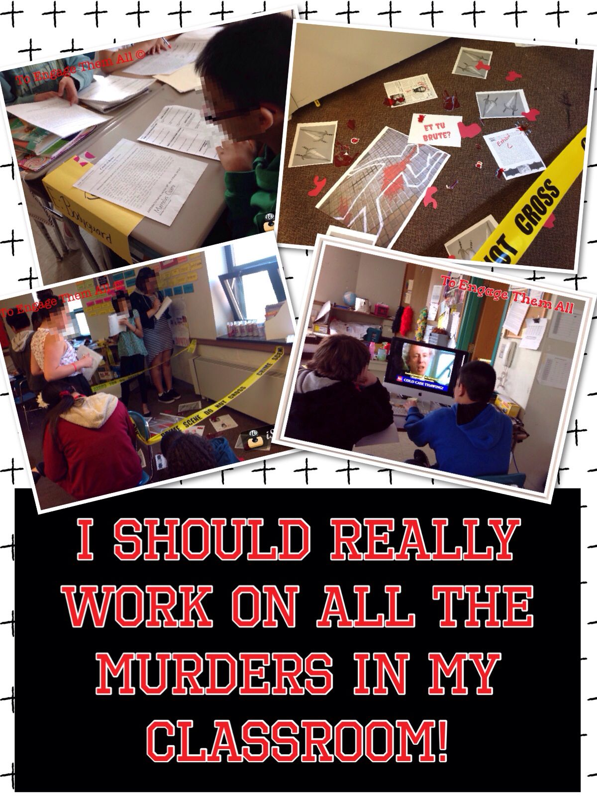 Why Do They Keep Murdering People In My Classroom Social Stu S