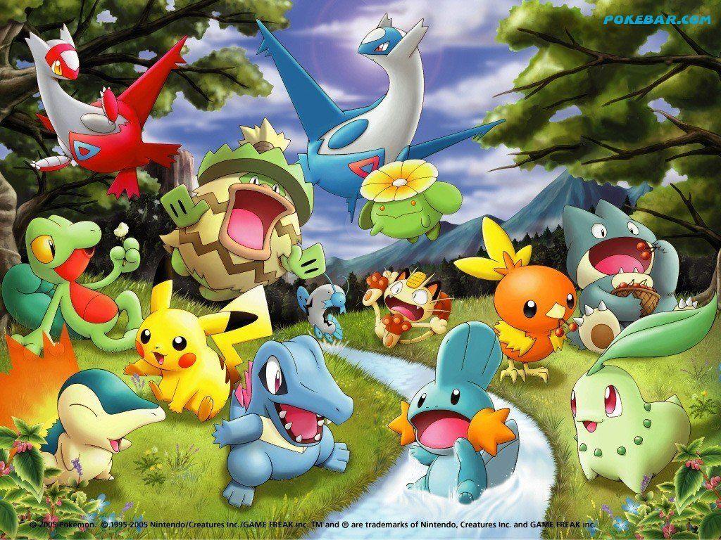Download Cute Pokemon Wallpaper 10225 Hd Wallpapers Areahd