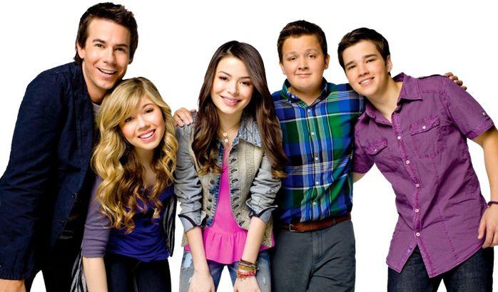 Spencer, Sam, Carly, Gibby, And Freddy.