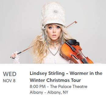 Lindsey Stirling Christmas Album.2017 4th Album Opening Christmas Album Warmer In