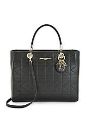 Miranda Quilted Leather Tote Karl Lagerfeld Lord&Taylor