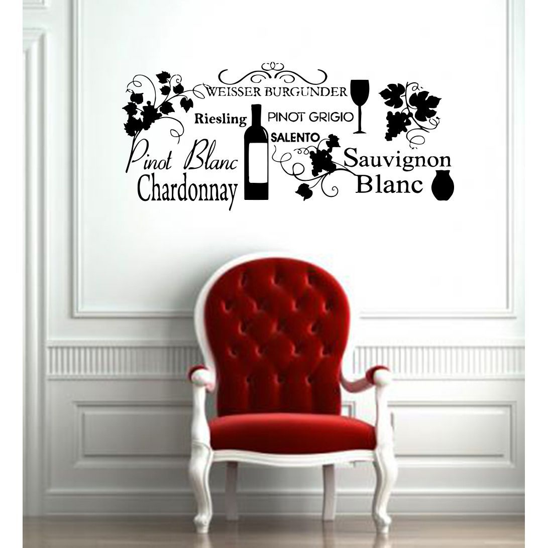 Cuisine Vinyl Wall Art: Free Shipping On Orders Over $45