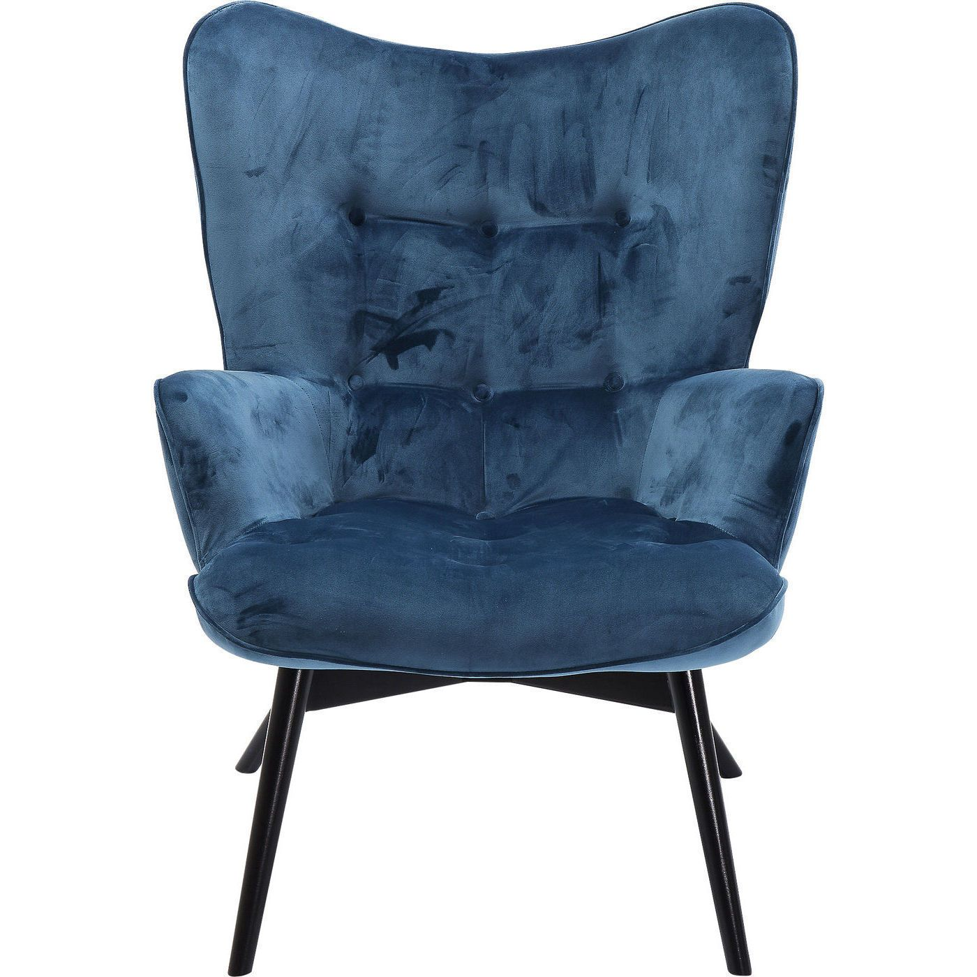 Lounge Sessel Samt Sessel Clubsessel Cocktailsessel Loungesessel Retro Vicky