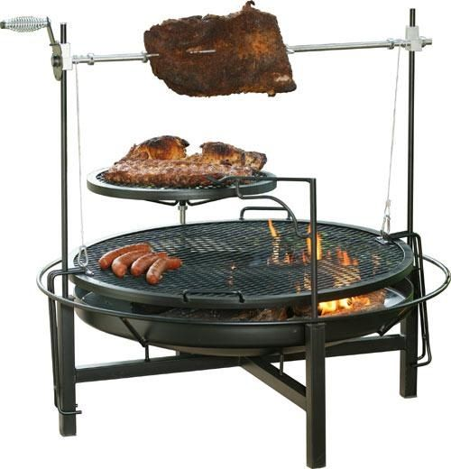 Serious Fire Pit Fire Pit Cooking Fire Pit Grill Cowboy