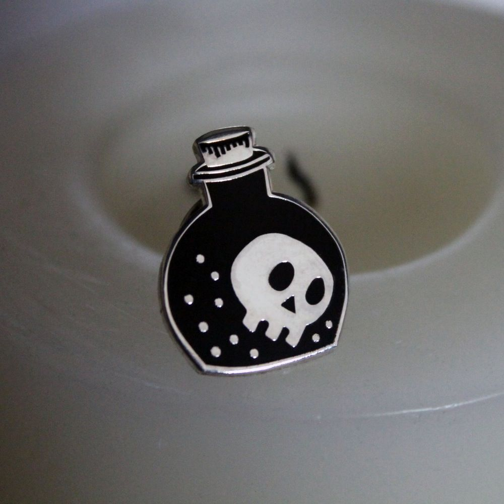 Image of Witches Brew Enamel Pin