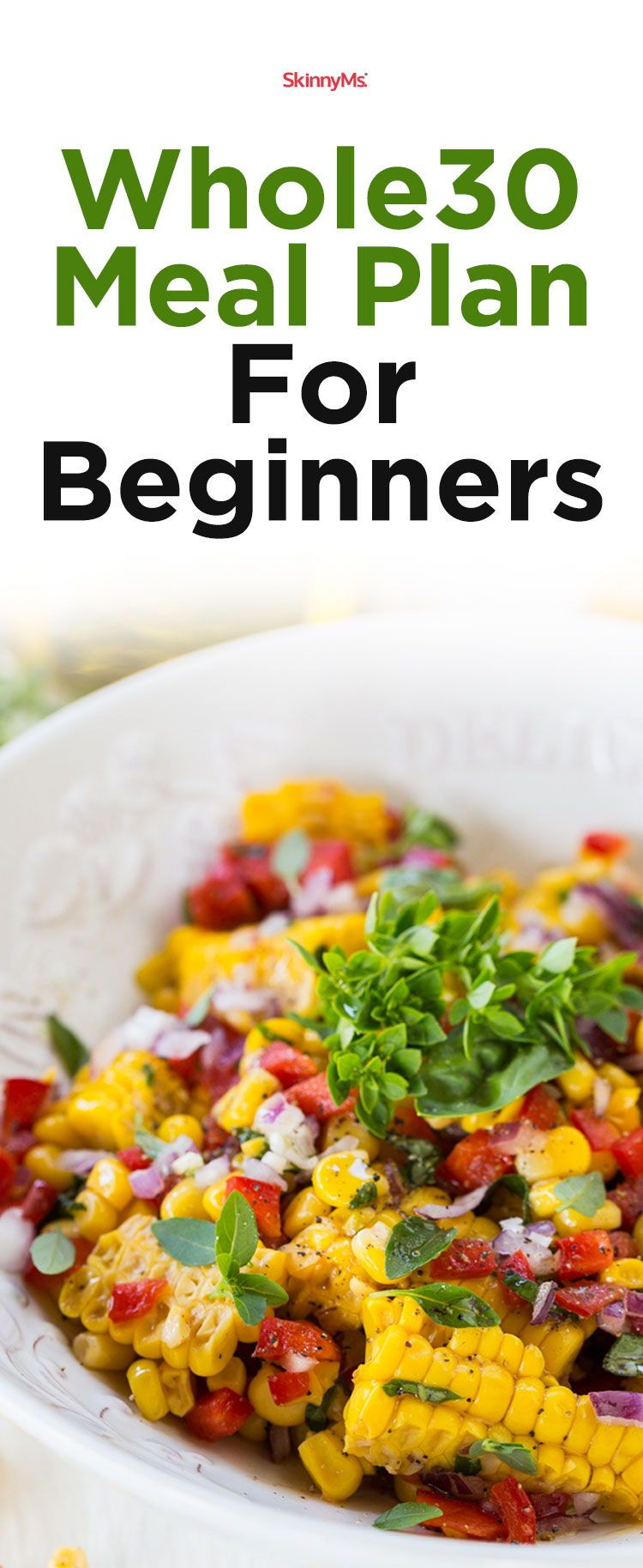Whole30 Meal Plan For Beginners Whole 30 meal plan