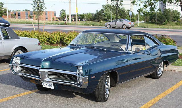1967 Pontiac Parisienne 2 2 Hardtop Bilar