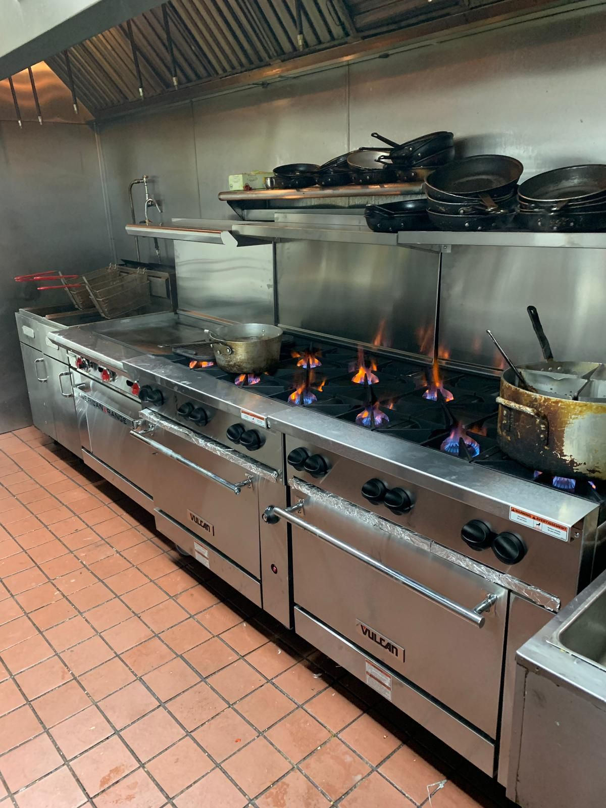 vulcan kitchen remodel budget have a lot of cooking to do get it all done with commercial range culinarydepot restaurantrange flame multitask commercialkitchen
