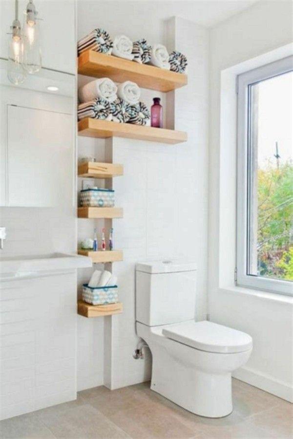 Badezimmer Ideen für kleine Bäder  so gewinnt man mehr Platz   Decoração banheiro, Decoração ...