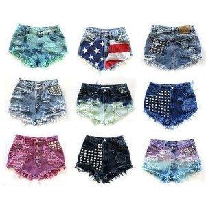 Custom Made High Waisted Shorts on Etsy, $20.00