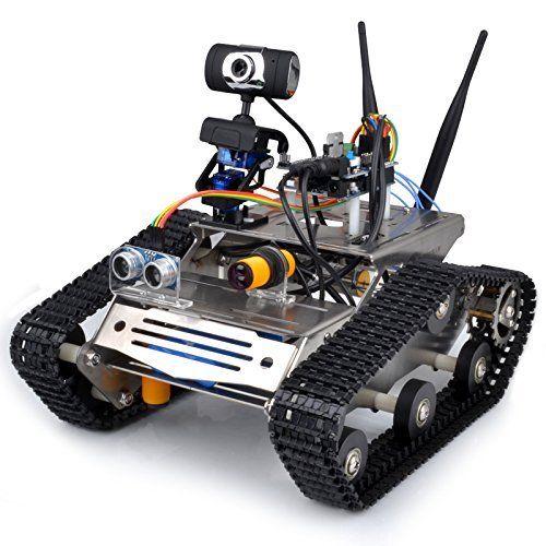 Saint-tech WIFI Robot Car Kit for Arduino, HD camera wireless wifi
