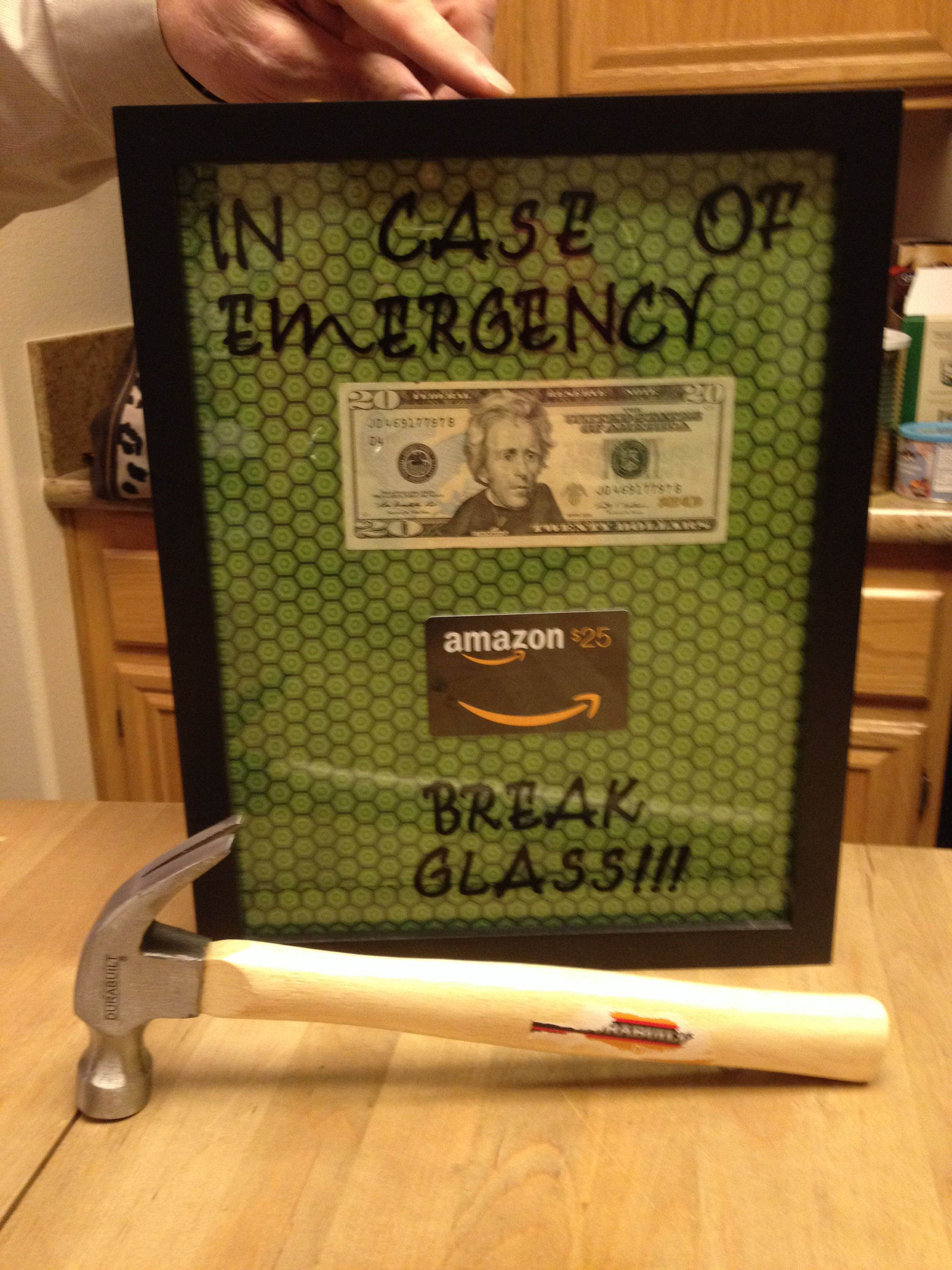 Fun way to give a gift card and/or cash! (With images ...