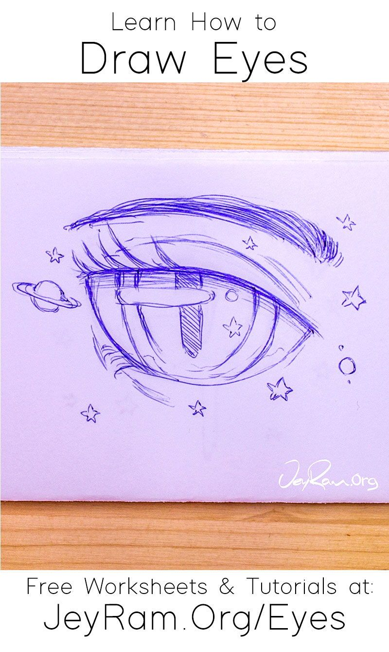 How To Draw The Eyes Step By Step For Beginners In 2020 Eye Drawing Drawing Tutorial Face Drawings