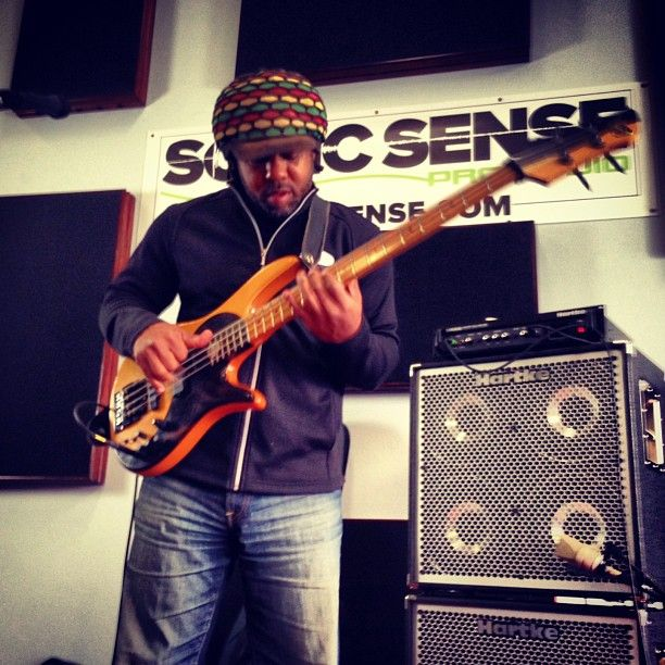 #Victor Wooten at #Hartke bass clinic hosted by Sonic Sense #proaudio