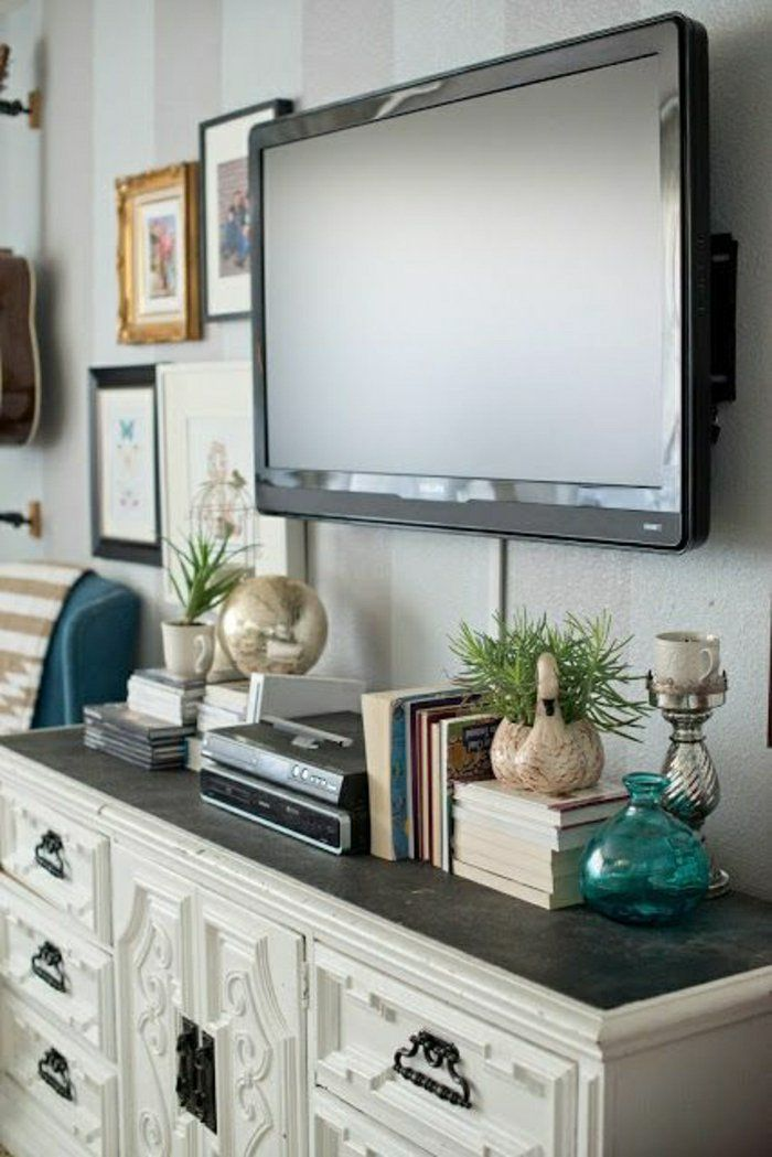 Le meuble télé en 50 photos, des idées inspirantes! Tv walls