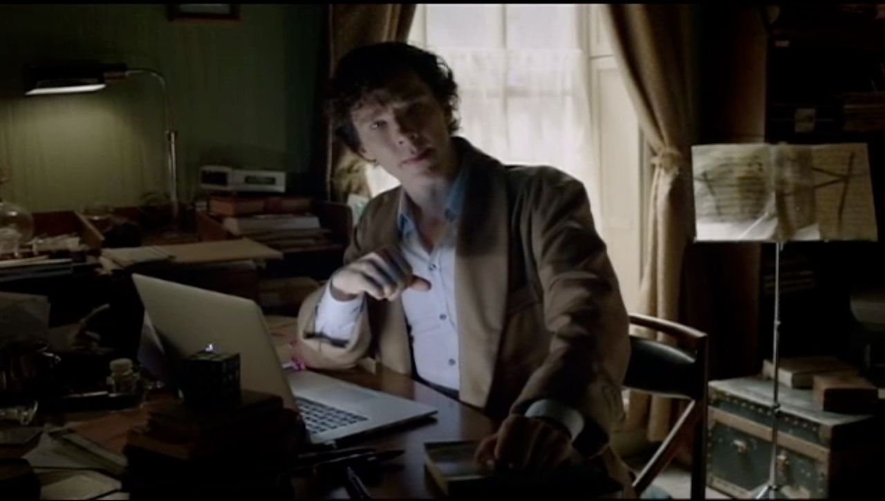 Sherlock\'s new dressing gown would appear to be this Derek Rose gown ...