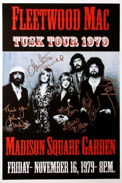 Fleetwood Mac Madison Square Garden November 16 1979 Fleetwood Mac Music Concert Posters Vintage Concert Posters