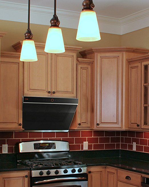 Amazon Com Fotile Jqg7501 30 Under Cabinet High Airflow Kitchen Range Hood With Led Lights Appliances Modern Kitchen Vents Kitchen Vent Hood Range Hood