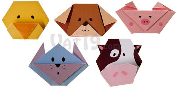 Each Set Of Magnetic Animal Bookmarks Includes One The Following Duck Dog Pig Cat And Cow