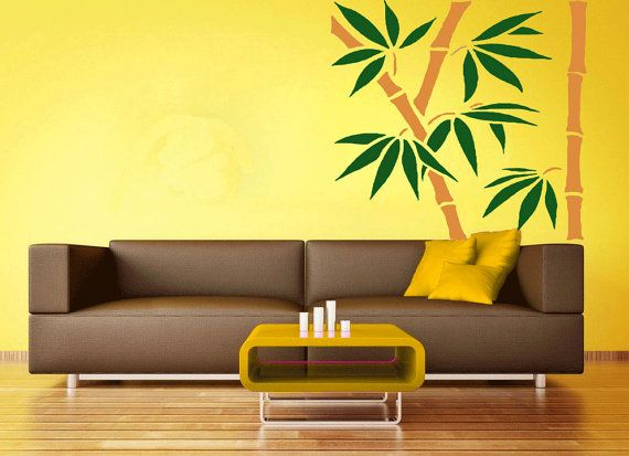 Vinyl wall decals. Wall stickers. Bamboo tree decals. by CredoArt, $75.00