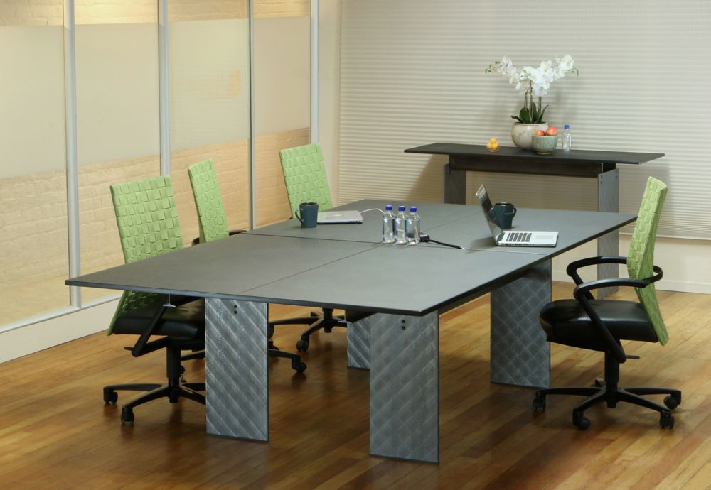 Axis Ping Pong Conference Table Hybrid From An Extensive Selection - Custom glass conference table