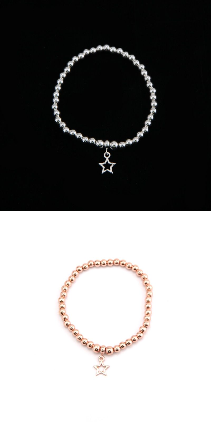 Sanshoor rose gold mm beads joma women jewelry shamballa bracelets