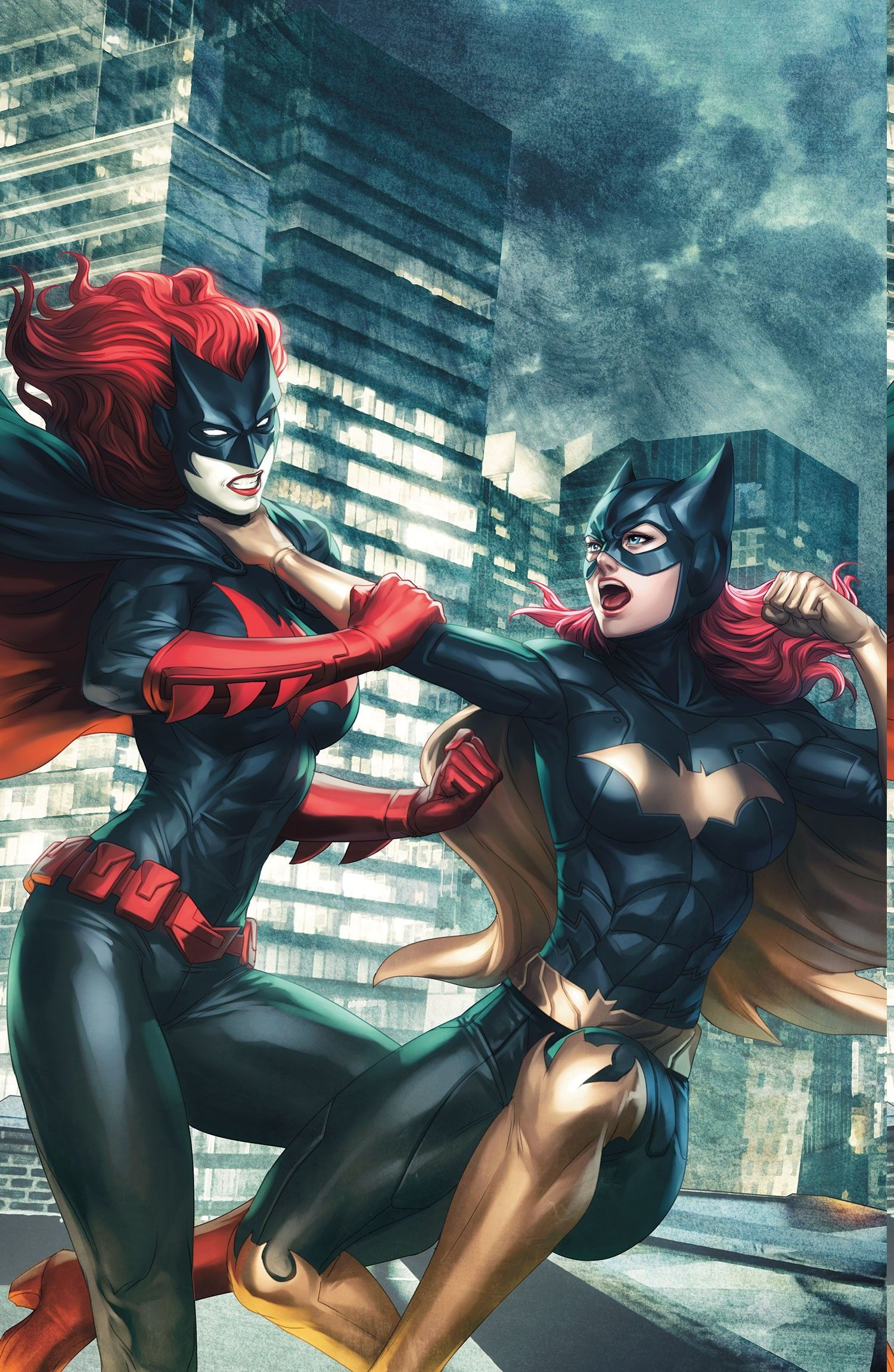 Batwoman Computer Wallpapers Desktop Backgrounds X Id Superhero Artwork Batgirl Batman And Batgirl