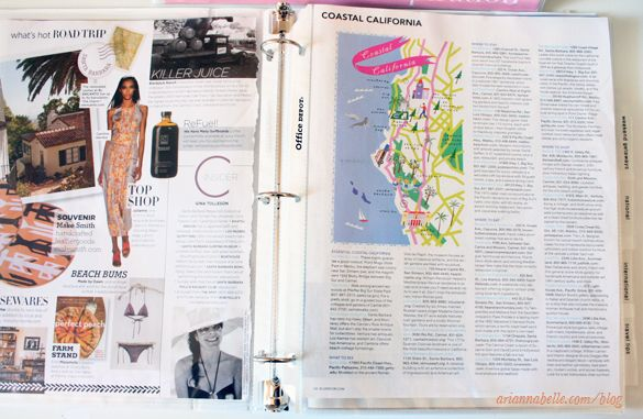 Arianna Belle The Blog: Organized_Magazine_Clippings_in_Binder_via_Arianna_Belle