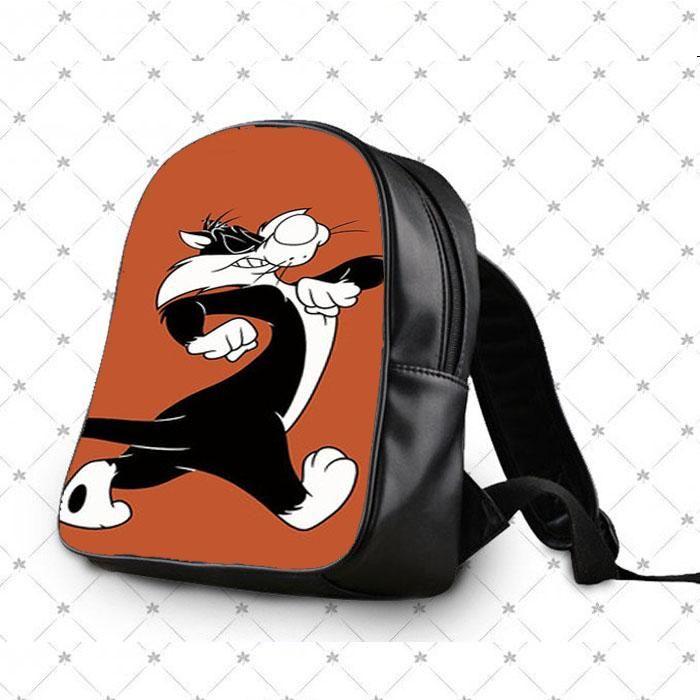Sylvester Walking Looney Tunes School Bag Backpacks