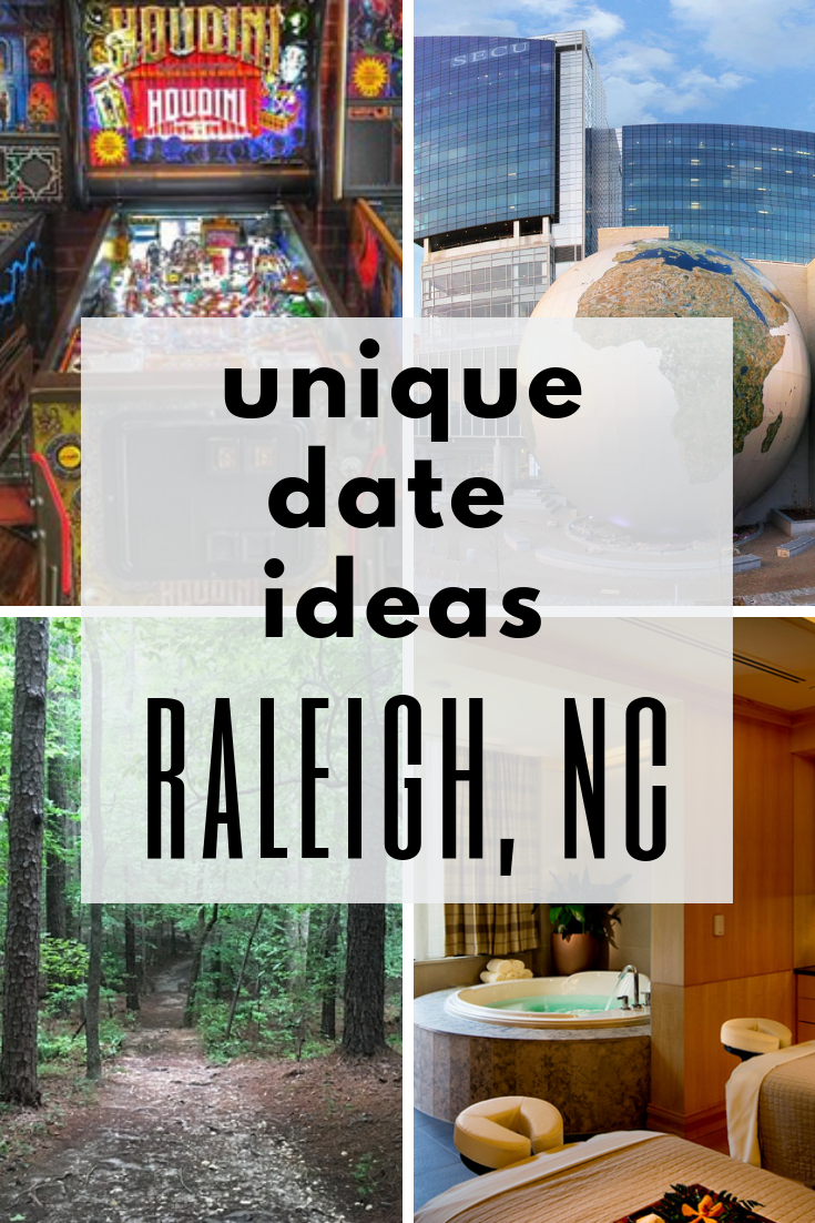 Unique date ideas raleigh nc