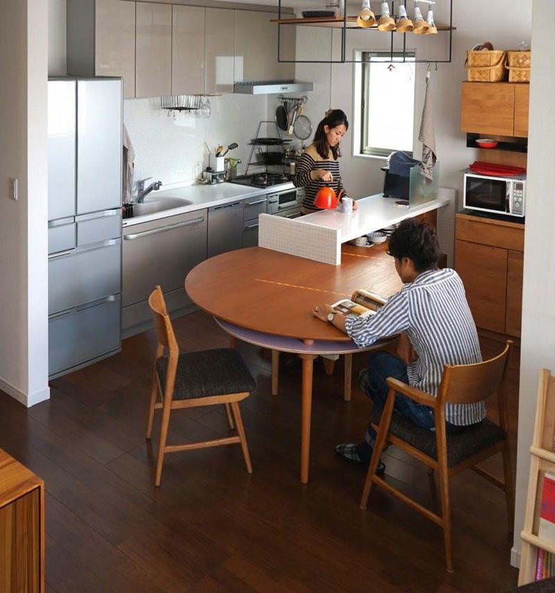 Küche Design-Ideen 14 Küchen, die das Beste aus einem kleinen Raum ...