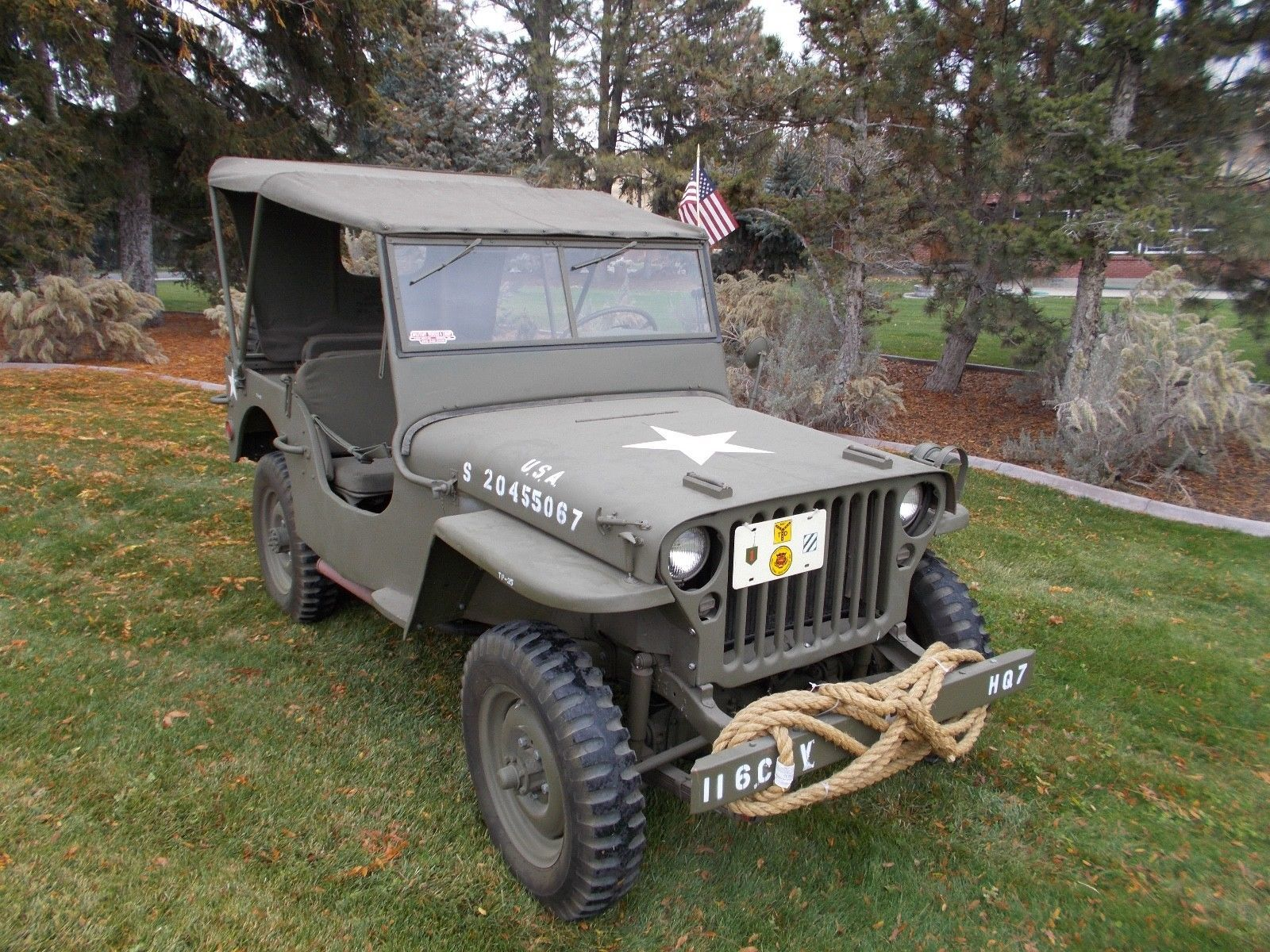 1942 Jeep Willys MB Americana for sale Pinterest