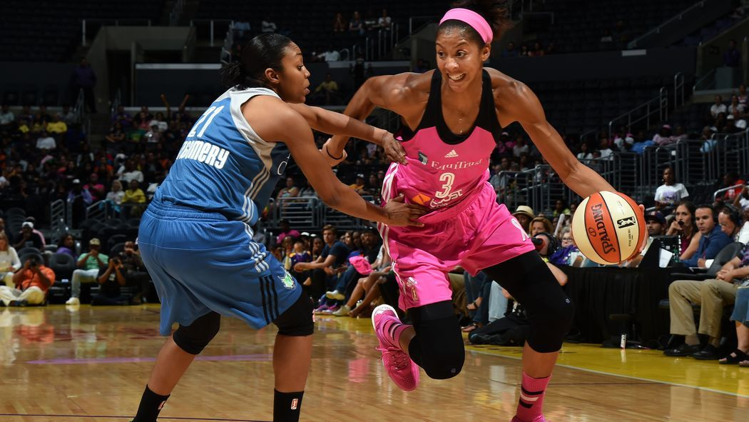 Candace Parker Has The Los Angeles Sparks On A Four Game Win Streak Their Longest In Two Years And They Aren T Looking Back Candace Parker Parker Wnba