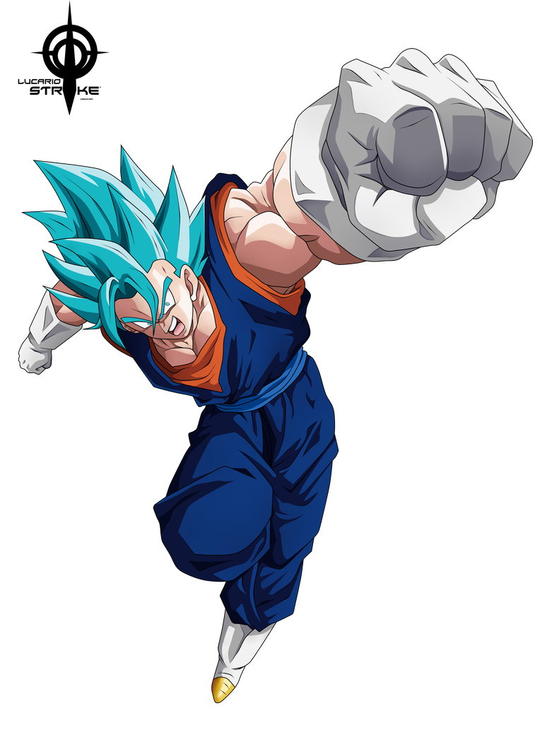 Vegetto Ssj Blue By Lucario Strike Dragon Ball Super Manga Anime Dragon Ball Super Dragon Ball Artwork