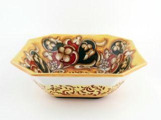 Italian Serveware Deruta Ceramics Francesca Niccacci Barocco Buy Italian Pottery At Thatsarte Com Ceramica Italiana Italiano