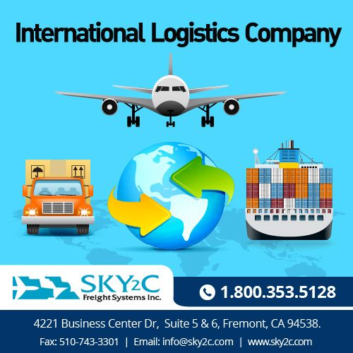 Sky2c is the best international #logistic service provider
