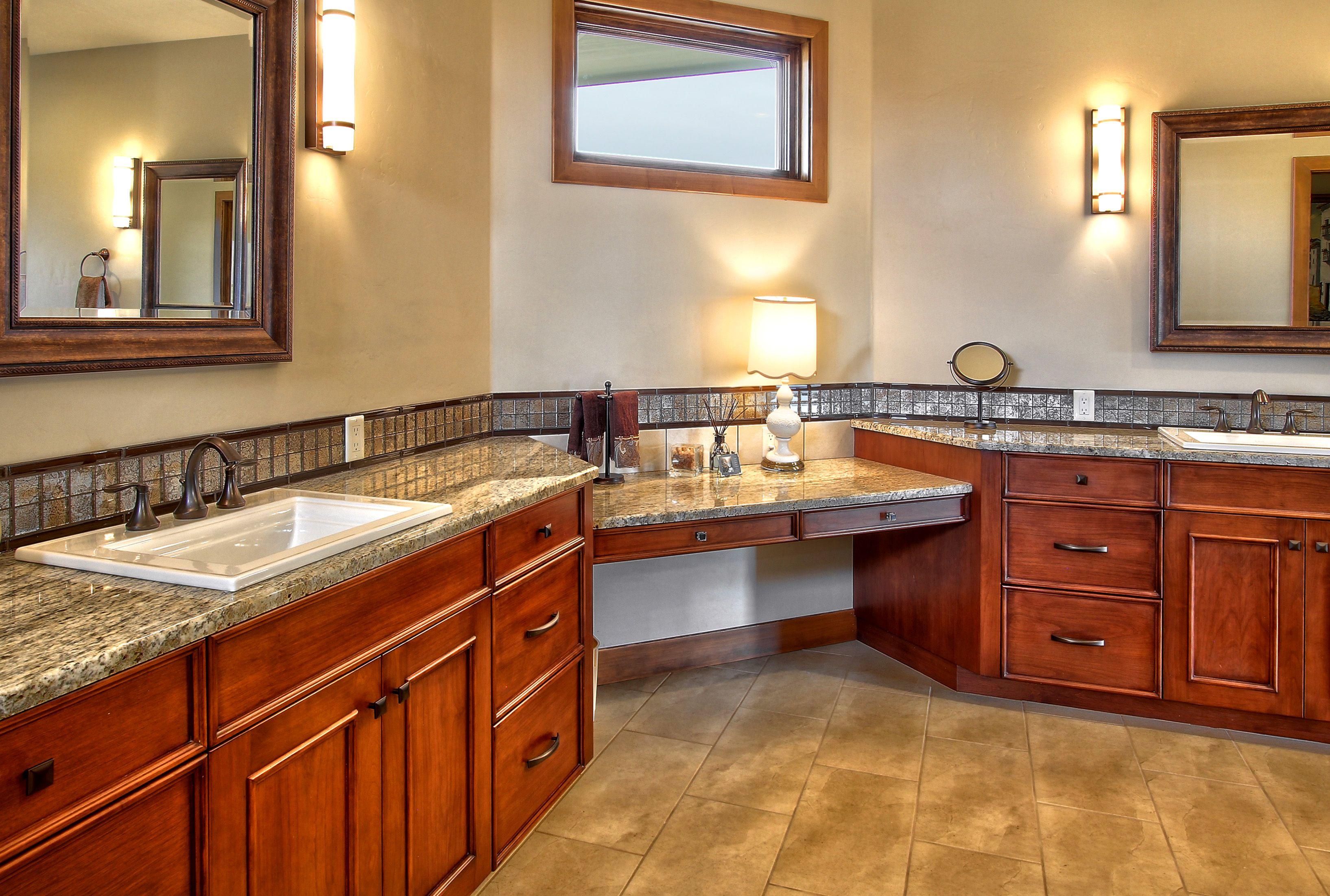 His and Hers Master Vanity bathroom vanity grey marble