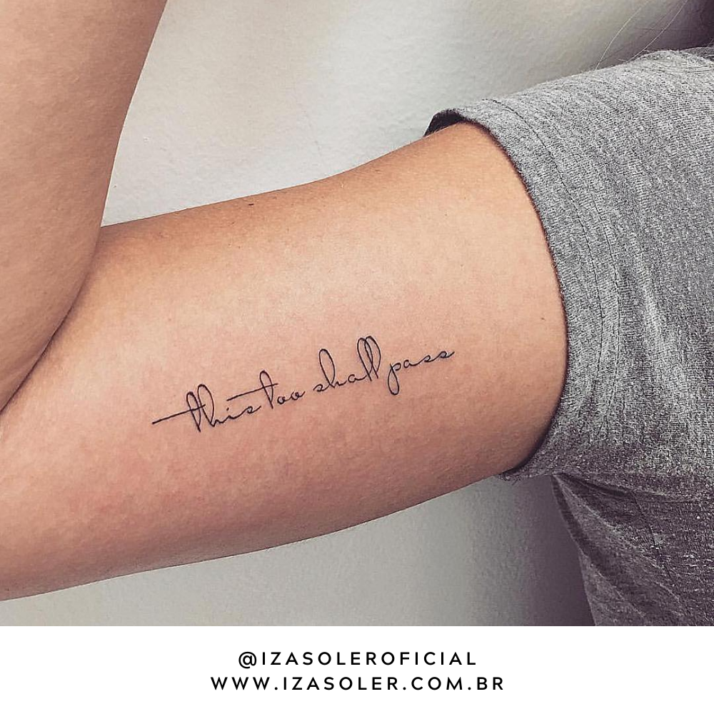 Photo of tatuagem sobre a vida