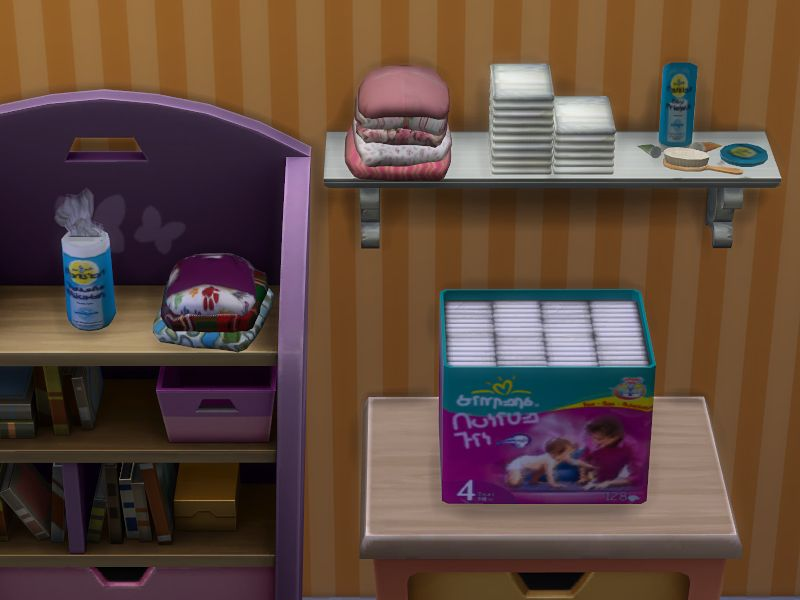 Sims  Kitchen Clutter Sets