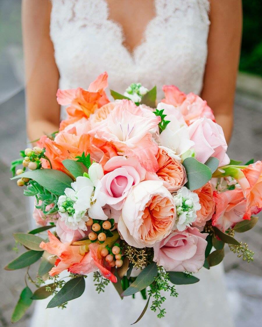 Summer Bridal Bouquet By Fiore Of Pensacola