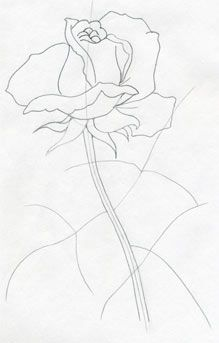 How To Draw A Rose Very Easy And Simple Comic Strip In 2019