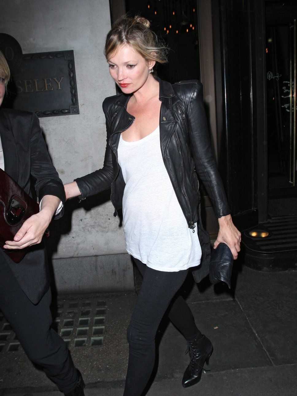 I want all of Kate Moss' leather items...including this jacket