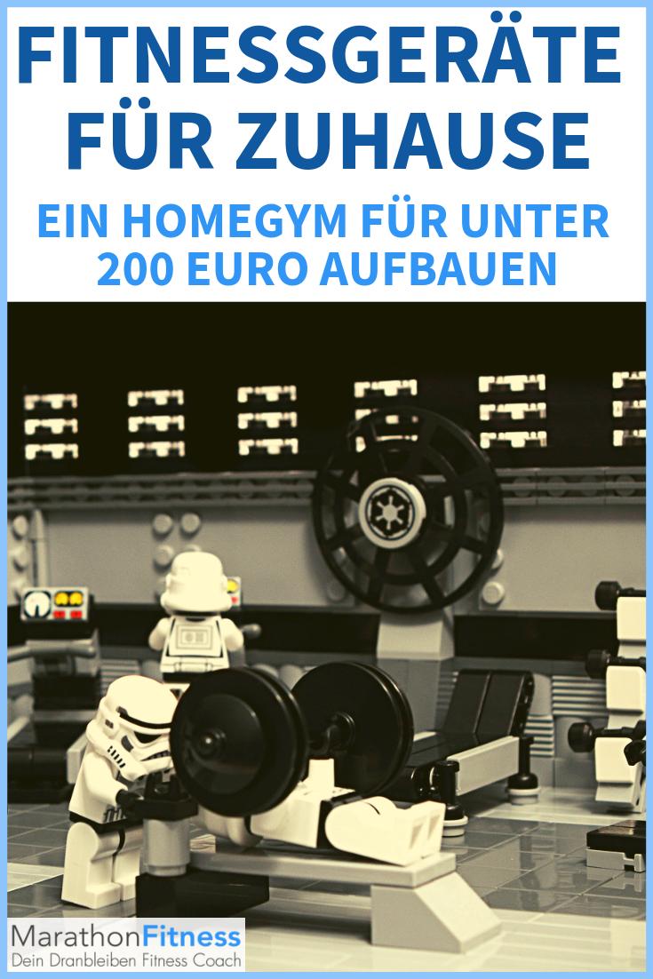Das perfekte HomeGym für unter 300 Euro Fitnessgeräte