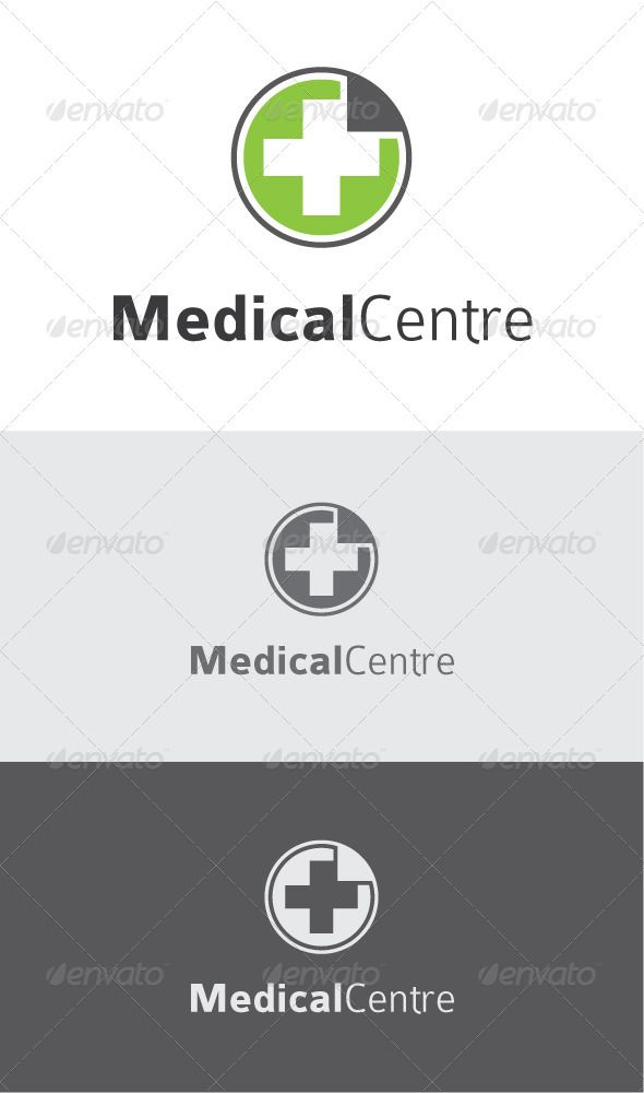 Green Medical Logo #GraphicRiver Medical Logo Template Ai, EPS files