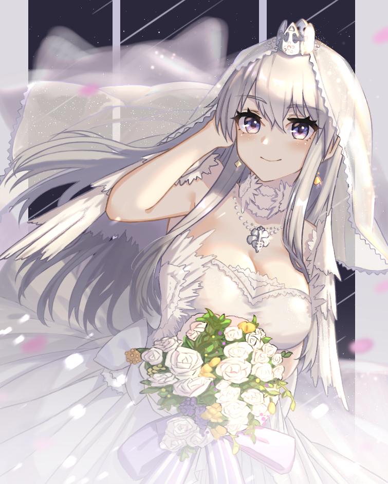 Bride Enterprise Azur Lane Anime Wedding Anime Lane