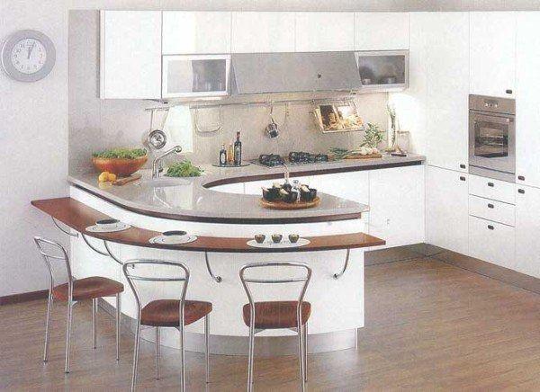 барная стойка кухня фото